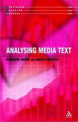 Analysing media texts